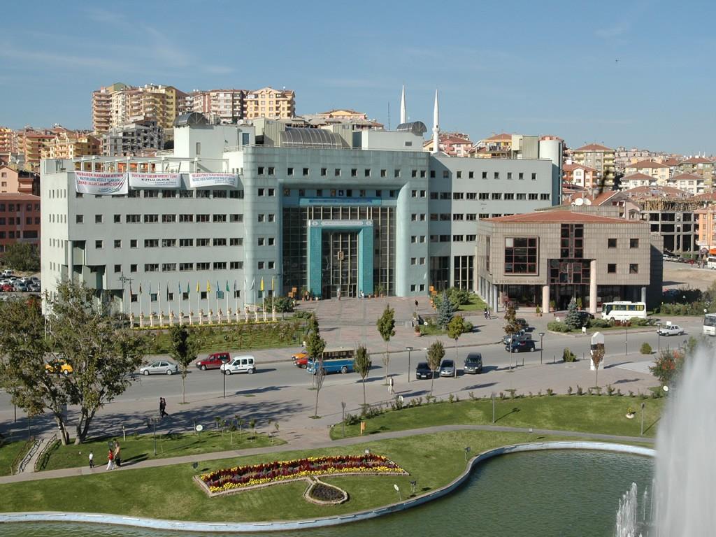 Keçiören Belediyesi Hizmet Binası